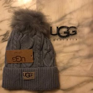 ❤️ Cable Knit UGG Beanie Hat w/fleece Lining ❤️